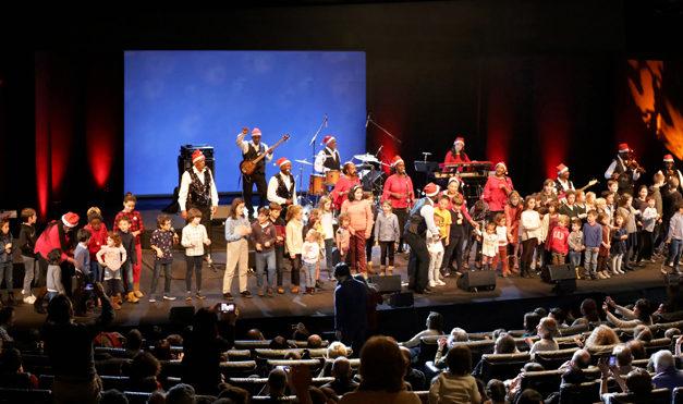 Gospel for kids. Spirit of New Orleans Gospel Choir en Teatro Fernán Gómez  de Madrid.