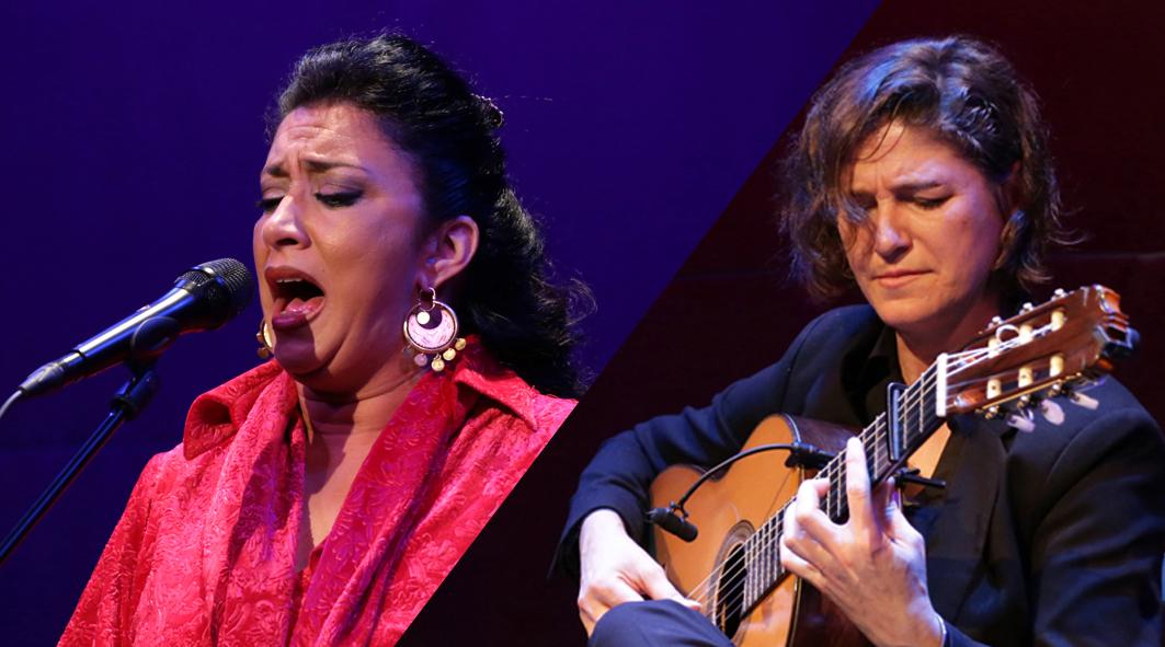Antonia Jiménez y La Fabi cierran el ciclo 'Flamencos y mestizos'.