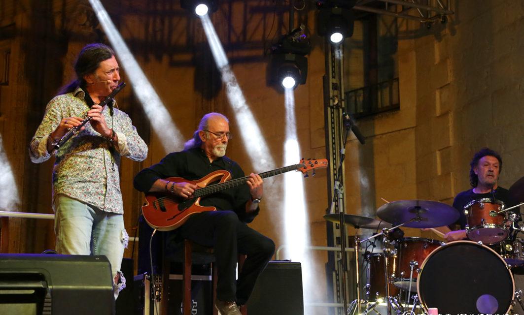 Jorge Pardo, Carles Benavent, Tino di Geraldo en el Estival Cuenca.