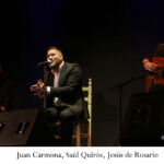 """Cante Flamenco"",  Saúl Quirós y Lucas Carmona en la sala Berlanga de Madrid"